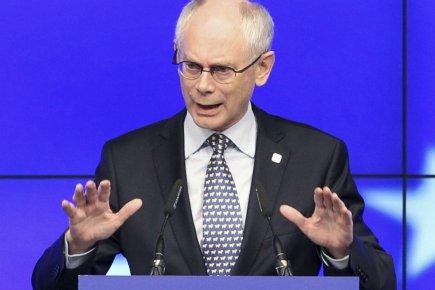 Le président du Conseil européen, Herman van Rompuy.... (PHOTO FRANÇOIS LENOIR, REUTERS)
