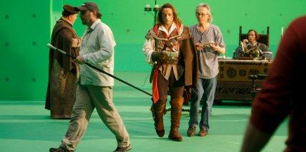 Plateau de tournage du film de 34 minutes... (Martin Chamberland, La Presse)
