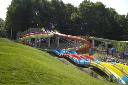 La nouvelle attraction au parc aquatique Ski Bromont... (Photo fournie par le Parc aquatique Ski Bromont)