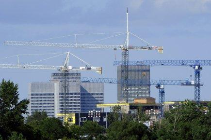 Les 188 chantiers immobiliers en cours de réalisation... (Photo Bernard Brault, La Presse)