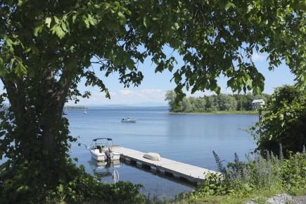 Les îles du Lac Champlain... (Photo Marie-Claude Malboeuf, La Presse)