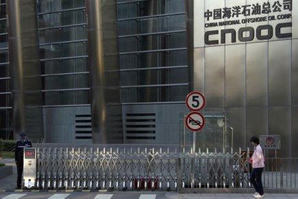 Le siège social de CNOOC à Pékin.... (Photo Reuters)