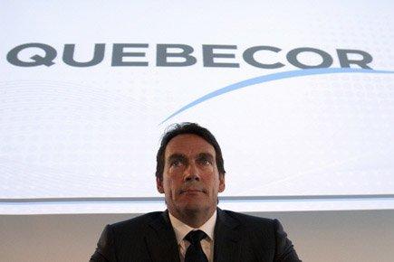 Pierre Karl Péladeau, président et chef de la... (Photo Reuters)