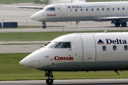 La compagnie aérienne américaine Delta Air Lines a annoncé vendredi que  sa... (PHOTO AL BEHRMAN, AP)