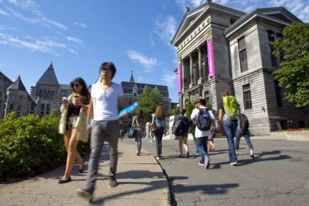 Campus de l'Université McGill... (PHOTO ALAIN ROBERGE, LA PRESSE)