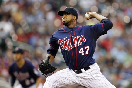 Francisco Liriano... (Photo : Eric Miller, Reuters)