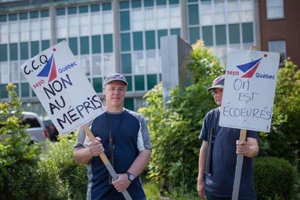 Les grévistes devraient être de retour au travail... (Photo: Édouard Plante-Fréchette, La Presse)