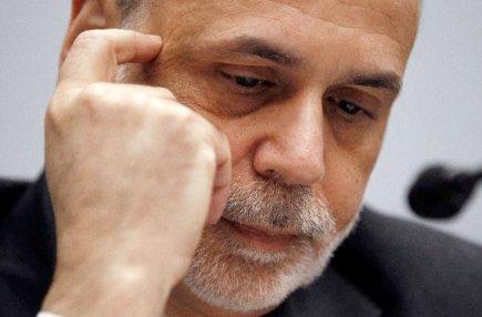 Ben Bernanke, directeur de la Réserve fédérale américaine,...