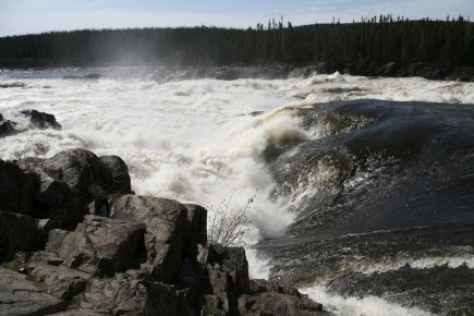 Muskrat Falls... (PHOTO TERRY TURNER, PC)