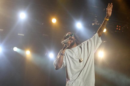 Snoop Dogg (au Ottawa Bluesfest).... (Photo Patrick Doyle, PC)