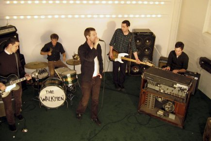 La formation musicale The Walkmen.... (Photo fournie par Warner Music.)