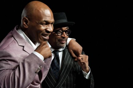 Mike Tyson et Spike Lee.... (Photo: Reuters)