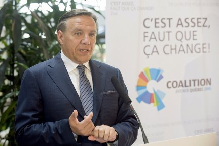 Le chef de la CAQ veut faire de... (Photo: PC)