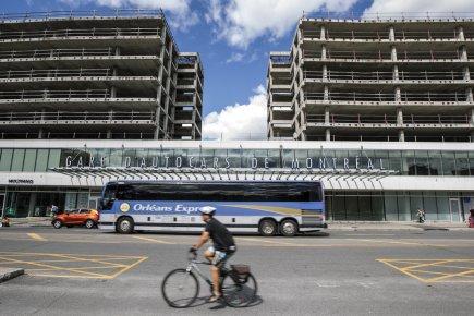 Le nouveau terminus d'autocars avait coûté la somme... (PHOTO OLIVIER PONTBRIAND, LA PRESSE)