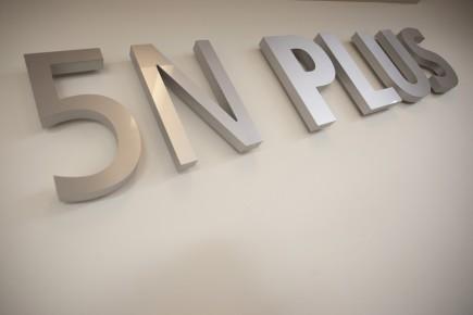 Le titre du producteur de métaux spéciaux 5N Plus (VNP) a touché un nouveau... (PHOTO IVANOH DEMERS, LA PRESSE)