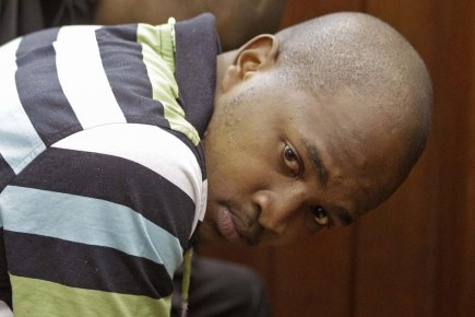 Mziwamadoda Qwabe a plaidé coupable de meurtre, rapt,... (PHOTO SCHALK VAN ZUYDAM, ASSOCIATED PRESS)