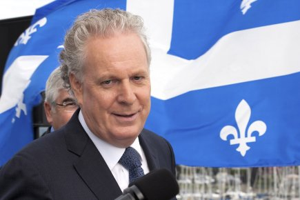 Jean Charest, premier ministre du Québec.... (PHOTO JACQUES BOISSINOT, LA PRESSE CANADIENNE)