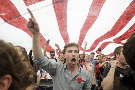 Malgré son image médiatique de radical, Gabriel Nadeau-Dubois... (photo Graham Hughes, archives la presse canadienne)