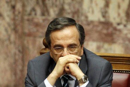 Le premier ministre grec, Antonis Samaras.... (Photo: AFP)
