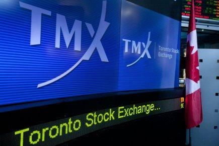 La Bourse de Toronto a clôturé vendredi en hausse, les opérateurs ayant fait fi... (PHOTO ARCHIVES BLOOMBERG)