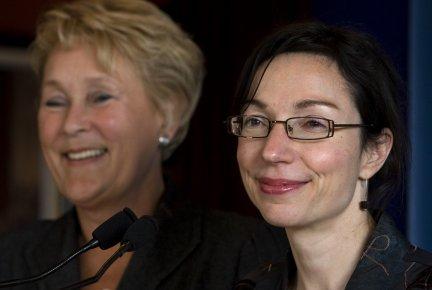 Martine Ouellet, réélue dans Vachon, est ingénieure et... (PHOTO ROBERT SKINNER, LA PRESSE)
