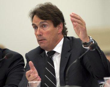 Pierre Karl Péladeau s'est opposé au projet d'achat... (La Presse Canadienne)