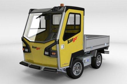 Le véhicule électrique Kargo, fabriqué à Sept-Îles, est... (Photo fournie par Précicad)