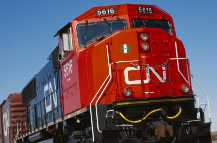 Une locomotive du Canadien National.... (PHOTO REUTERS)