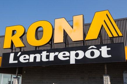 Rona (T.RON) a nié lundi avoir reçu une offre d'acquisition du... (Photo : Édouard Plante-Fréchette, archives La Presse)