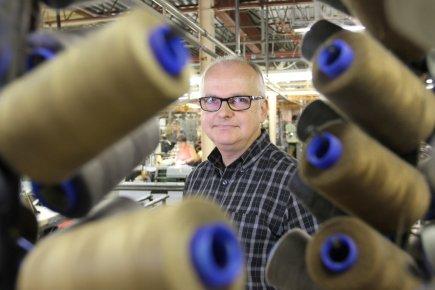 Daniel Langlois, directeur d'usine chez le fabricant de... (Photo Stéphane Champagne, collaboration spéciale)