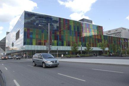 Le Palais des congrès de Montréal accueille en... (Photo Jean Goupil, archives La Presse)
