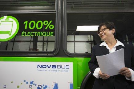 Élaine Zakaïb fera une tournée des régions du... (Photo Ivanoh Demers, La Presse)