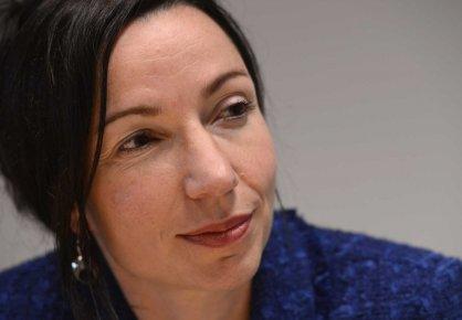 La ministre des Ressources naturelles, Martine Ouellet.... (PHOTO BERNARD BRAULT, LA PRESSE)