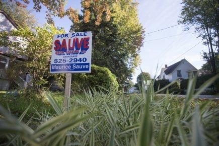 Une frénésie immobilière s'est emparée de la petite ville de Lancaster, à 10 km... (Photo Ivanoh Demers, La Presse)