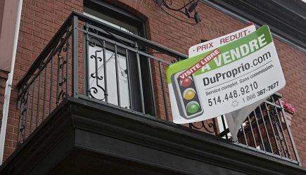 Une propriété à vendre à prix réduit.... (PHOTO FRANÇOIS ROY)