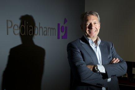 Sylvain Chrétien, président dePediapharm, a eu l'idée de... (Photo Martin Chamberland, La Presse)