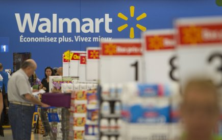 Le détaillant Walmart (WMT)entend réaliser au moins 37... (Photo Ivanoh Demers, archives La Presse)
