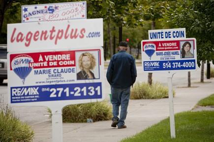 Dans la région métropolitaine de Montréal, 7175 transactions... (Photo David Boily, archives La Presse)
