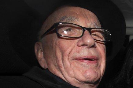 Rupert Murdoch... (Photo AFP)