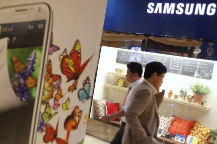 Samsung Electronics a annoncé vendredi de nouveaux résultats record au... (Photo Reuters)