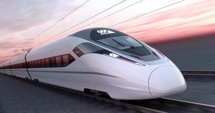 Un train Zefiro de Bombardier.... (IMAGE FOURNIE PAR BOMBARDIER)