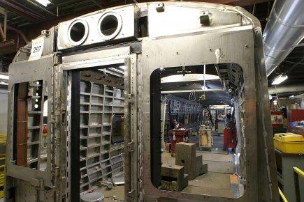 Les nouveaux wagons qui serviront au métro de... (Photo: archives PC)