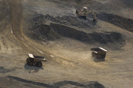 Mine North Mara de Barrick Gold en Tanzanie.... (PHOTO IVANOH DEMERS, LA PRESSE)