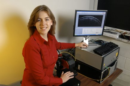 Caroline Boudoux, ingénieure junior. Elle n'a pas encore... (Photo fournie par l'École polytechnique)