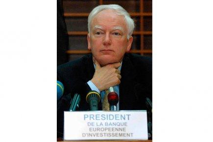 L'ancien président de la Banque européenne d'investissement, Philippe... (Photo Gérard Cerles, archives Agence France-Presse)