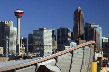 Ville de Calgary... (PHOTO FOURNIE PAR ISTOCKPHOTO)