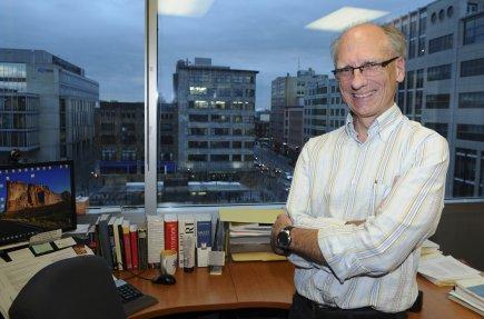 Louis Demers, coordonnateur de programmes à l'ENAP.... (Photo Le Soleil)