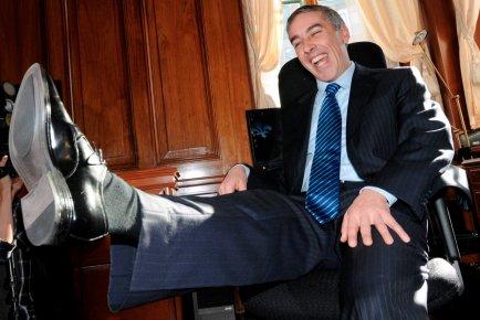 Le ministre des Finances,   Nicolas Marceau.... (Le Soleil, Erick Labbé)