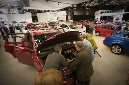 Le Salon international de l'auto est l'un des... (Photo André Pichette, archives La Presse)