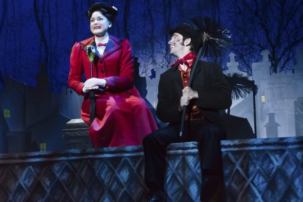 Mary Poppins reste un spectacle à l'ancienne, dépositaire... (Photo: La Presse)
